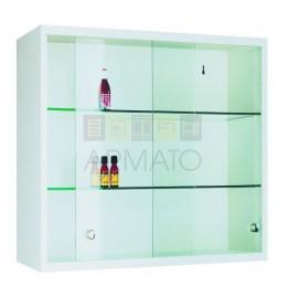 Подвесной металлический шкаф с передвижными дверьми Szl 102