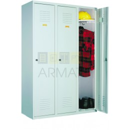 Шкаф одежный металлический ЛОК 33