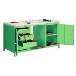 Металлический стол для мастерской СВ 85/20/75