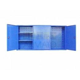Подвесной металлический шкаф для мастерской ПРМ 60/120/20