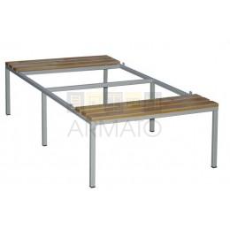 Гардеробная скамейка-подставка СГП 40/60/151