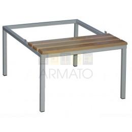 Гардеробная скамейка-подставка СГП 40/60/74