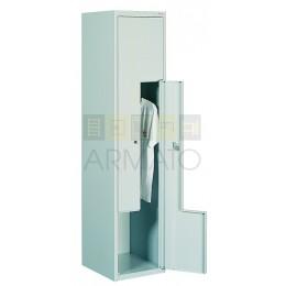 Шкаф одежный металлический ЛОК L41