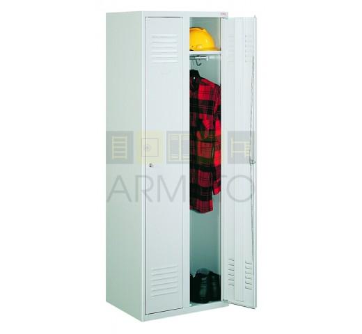 Шкаф одежный металлический ЛОК 32