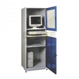 Металлический шкаф для производственного компьютера ПК 17/64/64